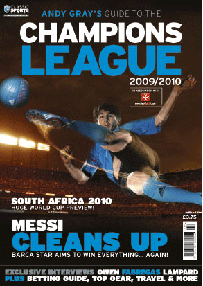 Andy Gray's Guide To The Champions League 2009/10 – A Classic Sports Series Title – Preview