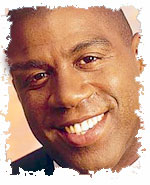 NBA Star Magic Johnson Uses Fancy Fortune Cookies as Icebreakers!