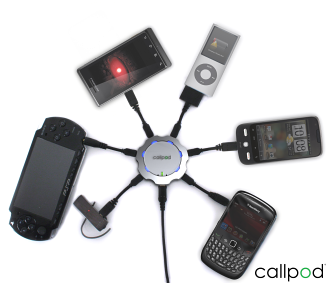 Power charger, Chargepod by Callpod, Now Available in Canada
