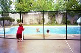 Guardian Pool Fence Reduces Risk of Accidental Drowning with Patented Self-Closing Gate
