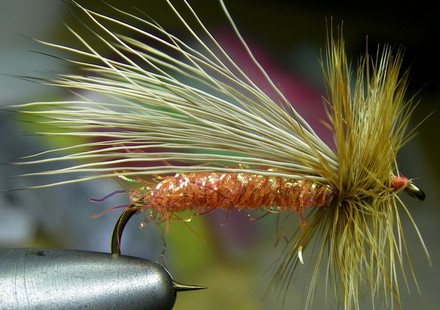 Don Johnson And A Pink Fly Tying Vise – A Man On A Mission?